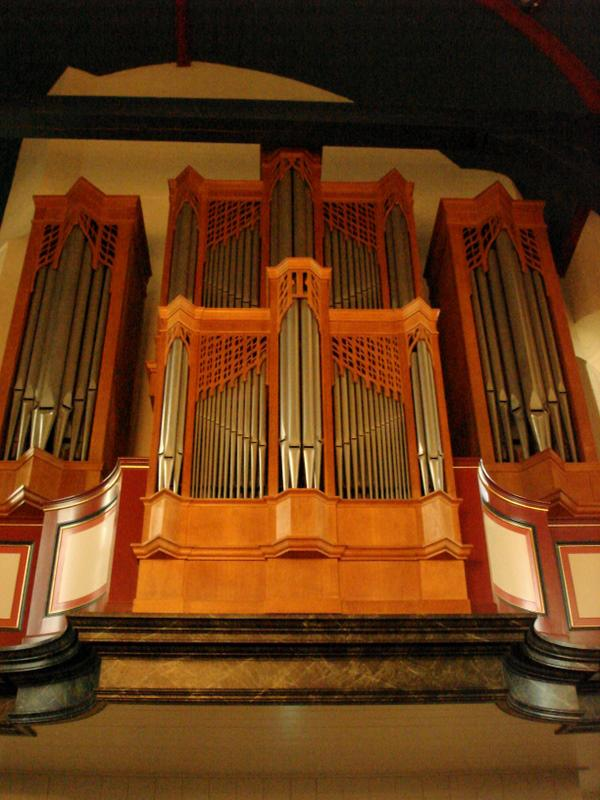 Orgel front